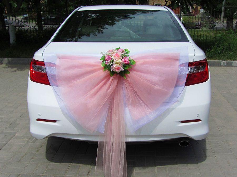 Сделать своими руками банты для свадебной машины 669
